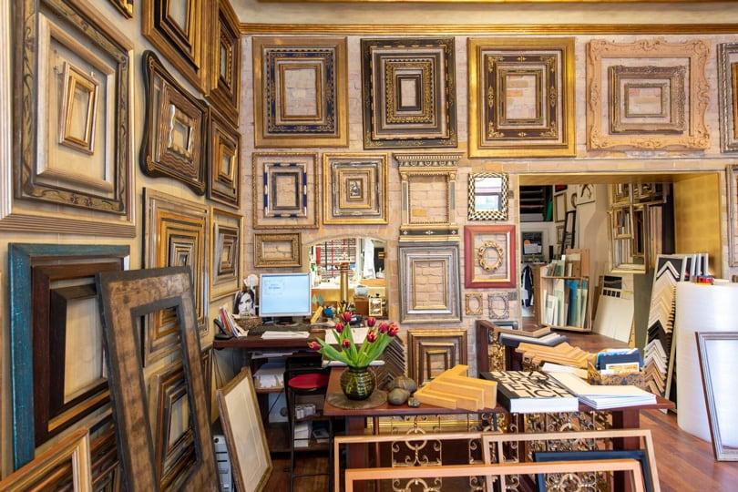 Werkstatt für Bild & Rahmen - Bilderrahmung